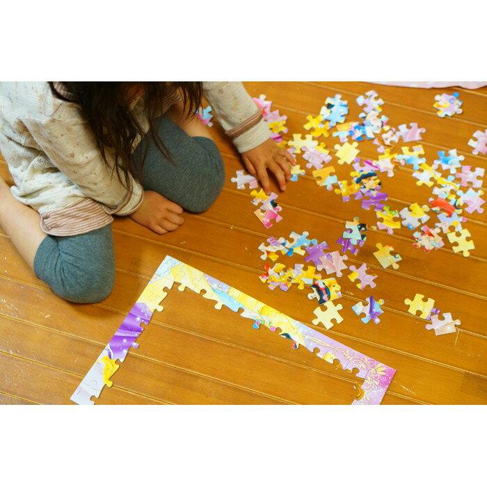 【預購】日本進口正版 迪士尼 迪斯尼  96片 兒童拼圖 公主 拼圖 2638cm【星野日本玩具】