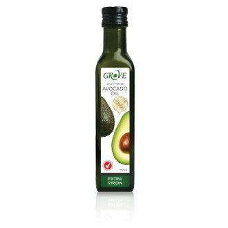 GROVE 100%特級初榨冷壓酪梨油 (原味) 第一道冷壓初榨250ml/瓶 原價$490 特價$449