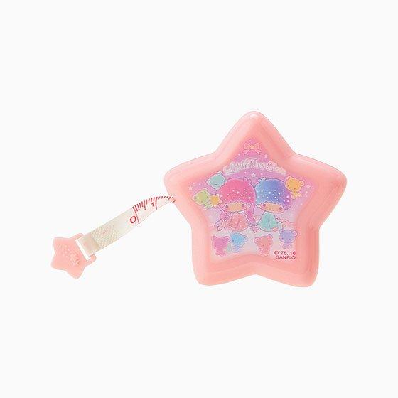 【真愛日本】16123000041 星星造型攜帶式捲尺-TS彩虹熊 雙子星 KIKILALA KITTY 捲尺