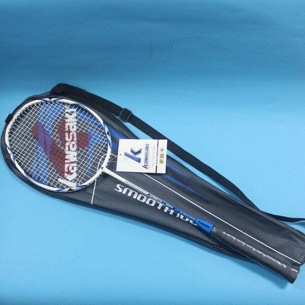 Kawasaki 川崎羽毛球拍KBC~1000羽球拍 羽拍 附背拍袋 MIT製  一支入
