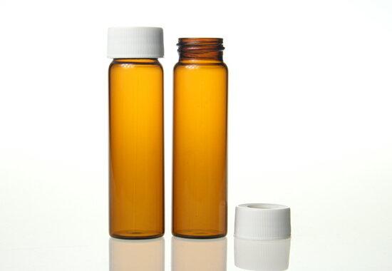 《實驗室耗材專賣》40ml 茶色EPA,VOC,TOC瓶 27.5×95mm 100pcs / pk 實驗儀器 玻璃製品 樣品瓶 儲存瓶 0