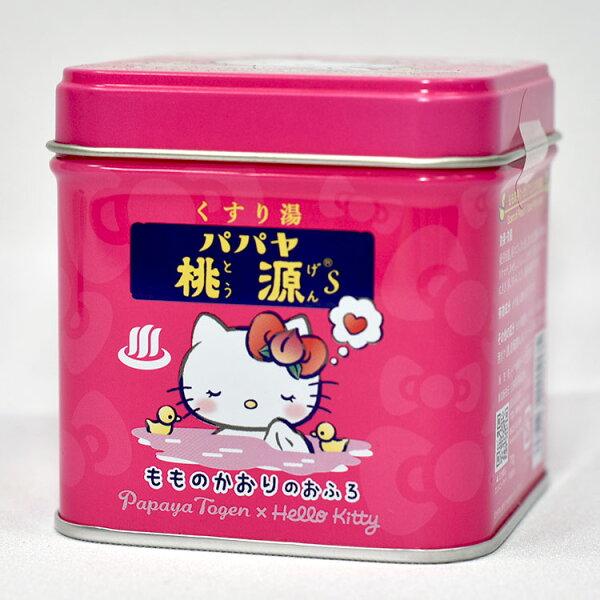 HelloKitty桃源日本溫泉入浴劑泡澡用日本製