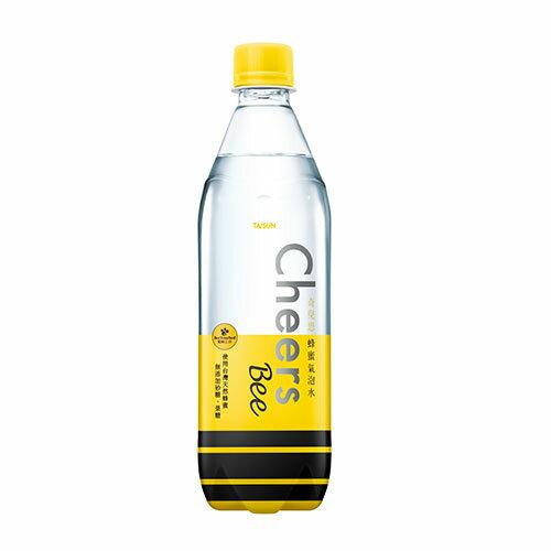 CHEERS蜂蜜氣泡水590ML*24【愛買】