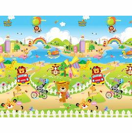 【飛炫寶寶】PARKLON 韓國帕龍無毒地墊 - 單面包邊PE爬行墊【遠足趣】PG01