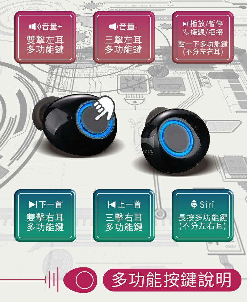 【公司貨】K11 防汗防水 5.0無線藍牙耳機 方盒運動藍芽耳機 聽音樂LINE通話 語音控制 雙耳獨立使用 磁吸充電盒 5