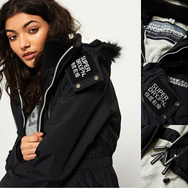 ★現貨★Superdry極度乾燥女款FurSherpaSD-WindAttacker連帽防風夾克