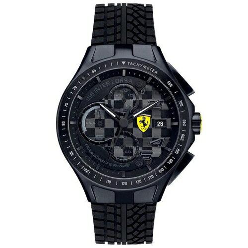 FERRARI 法拉利  狂熱飆速 機械計時腕錶 830105