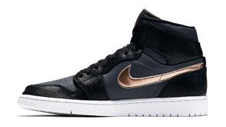 NIKE AIR JORDAN 1 RETRO HIGH 喬丹 一代 男鞋 籃球鞋 黑金 金牌 【運動世界】 332550-016