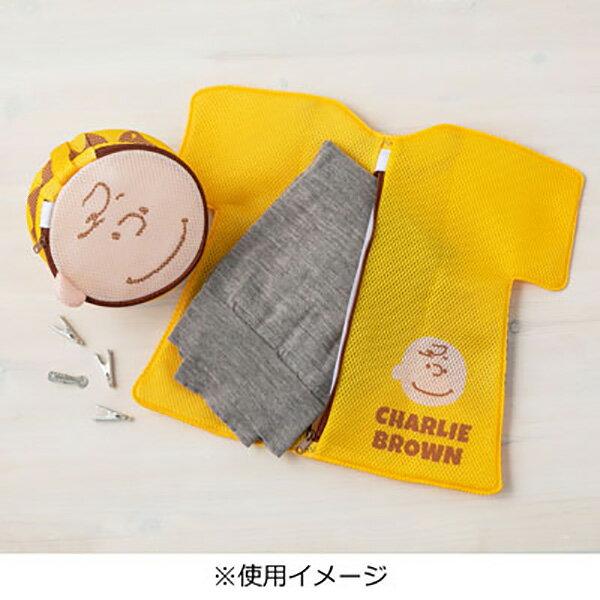 史努比造型洗衣袋 史努比 查理布朗 洗衣袋 洗衣袋收納 屋子造型 衣服造型 紅色 黃色 日本進口 5