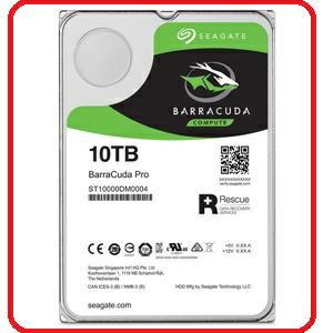 Seagate新梭魚BarraCudaPro10TB3.5吋桌上型硬碟ST10000DM0004