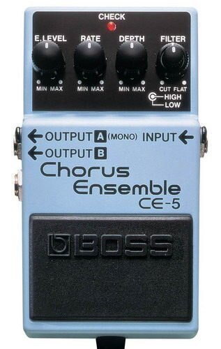 Boss CE-5 Chrous Ensemble 電吉他和聲單顆效果器(最受歡迎的和聲之一)【唐尼樂器】