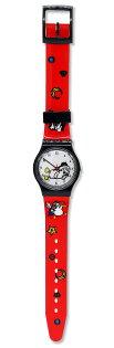 做你的白日夢特展塑膠手錶-大陰盜百貨精選插畫款