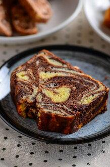 磅蛋糕- 巧克力大理石蛋糕
