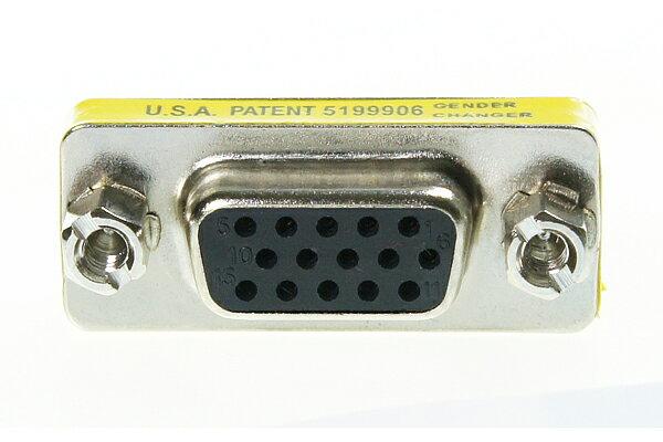 AviewS-VGA/180度轉接頭/母對母頭轉接頭 1