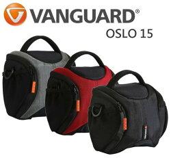 【中壢NOVA-水世界】Vanguard 精嘉 即影者 OSLO 15 側背包 斜肩包 單眼相機包 附防雨罩 公司貨