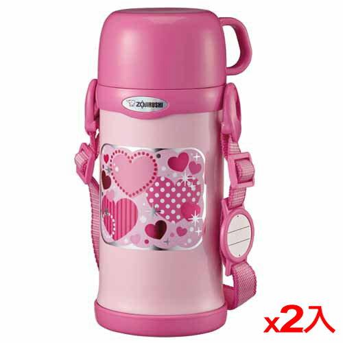 ★2件超值組★象印 童用保溫瓶-SCMC60PZ(600cc)【愛買】