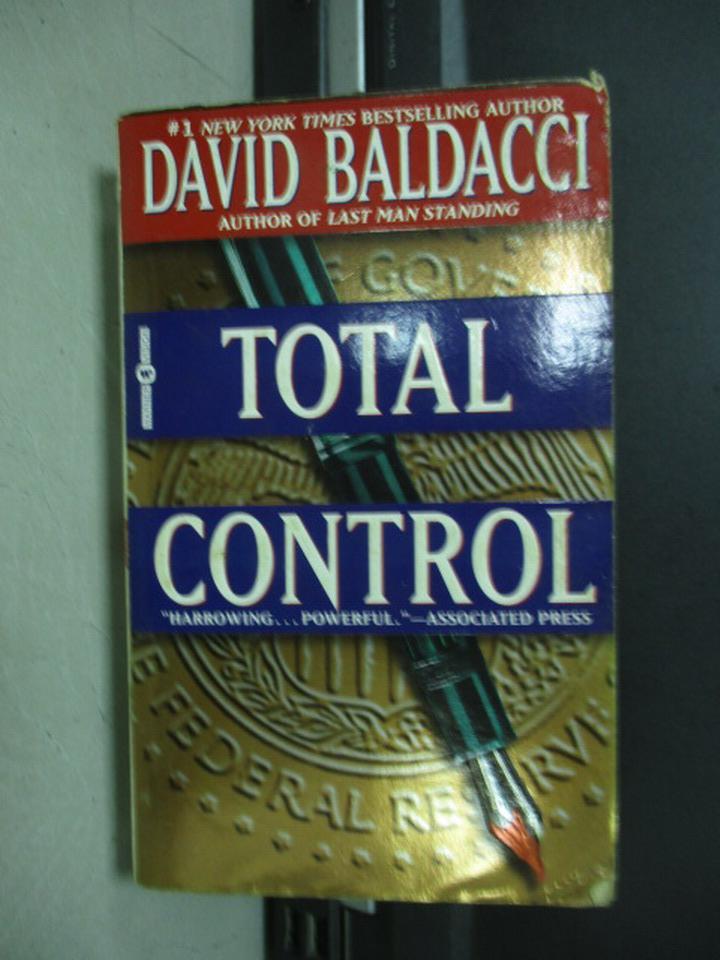 【書寶二手書T7/原文小說_KAO】Total Control_David Baldacci