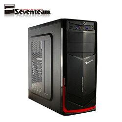 七盟 魔劍 ST-800 電腦機殼 黑紅【三井3C】