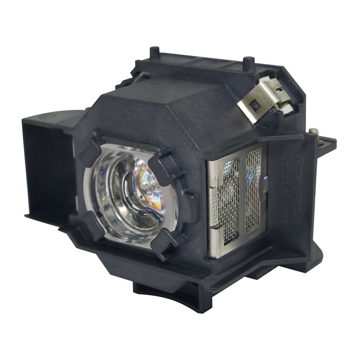 Replacement Lamp with Housing for EPSON EB-1735W with Philips Bulb Inside
