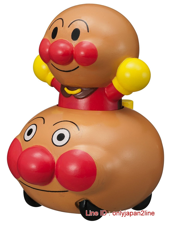 【真愛日本】16122000004滾筒印章玩具車-AP     電視卡通 麵包超人 細菌人 兒童玩具 正品 限量