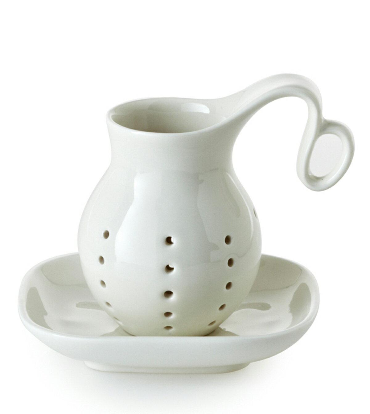 乾唐軒活瓷 ‧ 人氣濾茶器 ( 白釉 )
