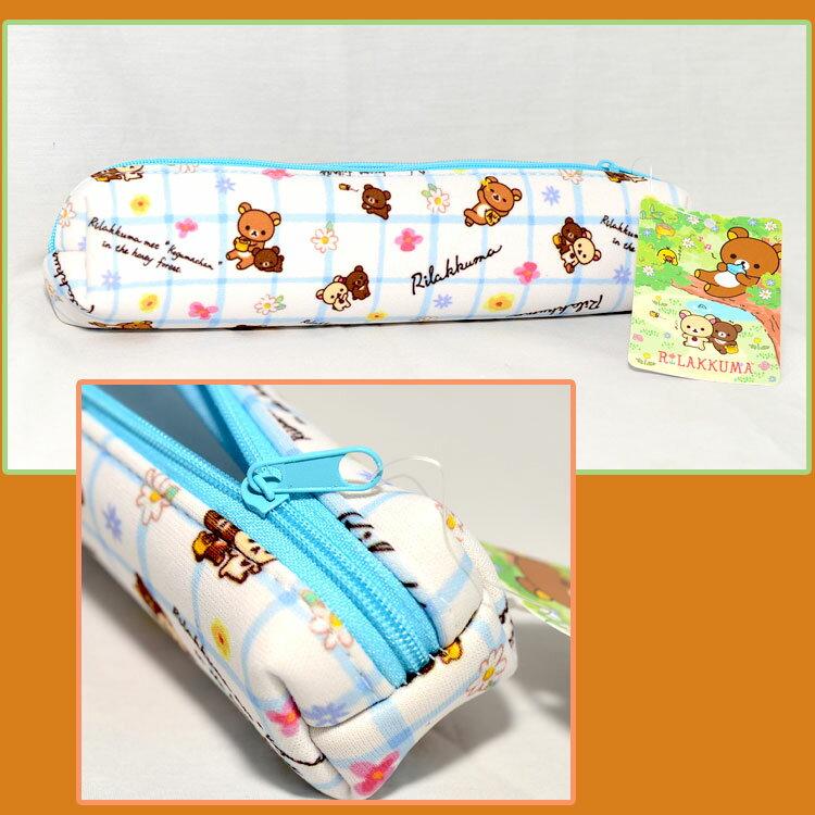 拉拉熊 筆袋 收納包 日本正版商品 Rilakkuma