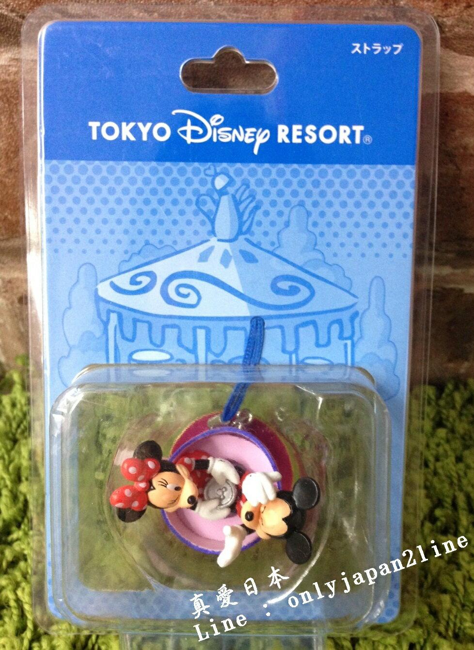 【真愛日本】16042100075 樂園遊樂場景吊飾-咖啡杯 迪士尼 Disney 場景 吊飾 擺飾 限量