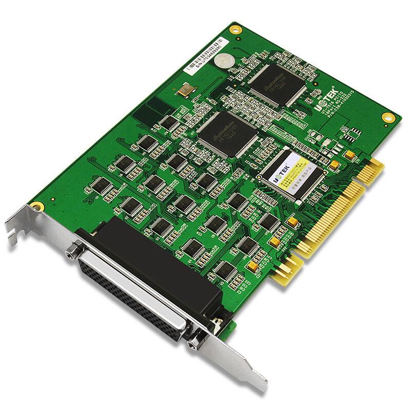 宇泰UT-7516 PCI串口卡 PCI轉16口RS232多COM口卡工業級DB9擴展卡電腦主機pc主板九針9針轉接卡拓展卡十六口