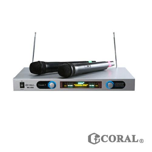 CORAL MIC~2800 無線麥克風