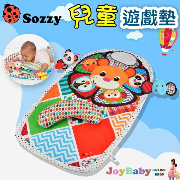 兒童防撥水遊戲墊+趴趴枕 2入組