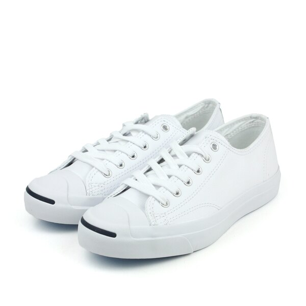 <br/><br/>  CONVERSE Jack Purcell Leather 休閒鞋 白 男女款 1S961 no223<br/><br/><a href=