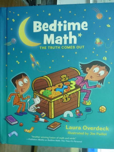 ~書寶 書T7/繪本_QJV~Bedtime Math_Overdeck