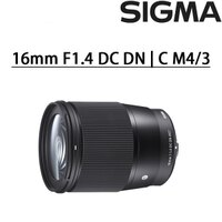 Canon鏡頭推薦到★E-MOUNT現貨不用等快搶購 [滿3千,10%點數回饋]Sigma 16  mm F1.4 DC DN | C   恆伸公司貨就在Canon Mall推薦Canon鏡頭