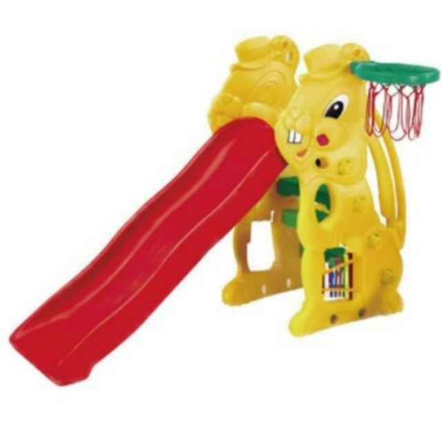 [公司貨] CHING-CHING親親 小白兔溜滑梯-黃色