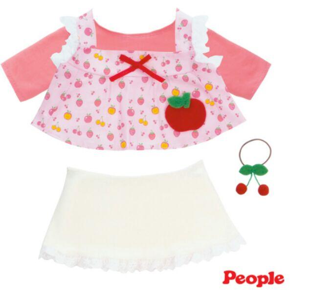POPO-CHAN水果長版裙裝組合-粉色 1