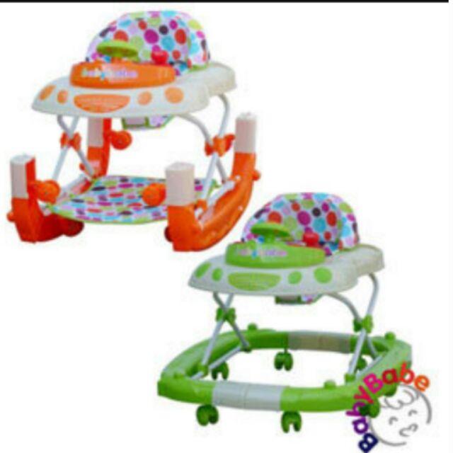 【寶貝樂園】Babybabe多功能汽車嬰幼兒學步車