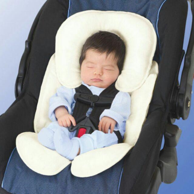 【寶貝樂園】美國Summer Infant寶寶車用柔軟保護墊-米色