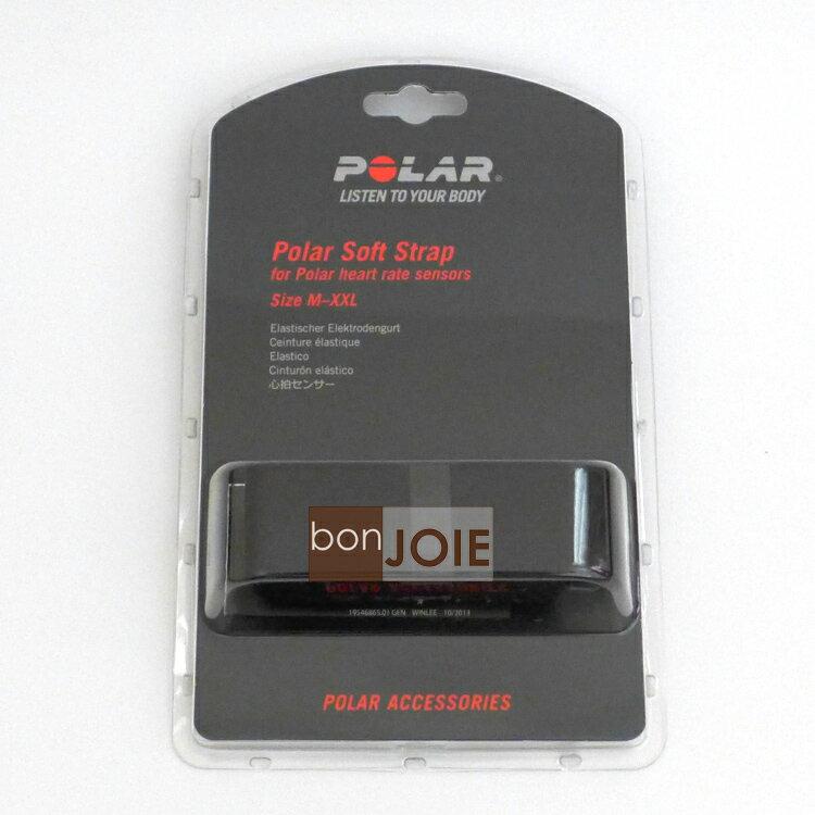 ::bonJOIE:: 美國進口 盒裝 Polar Soft Strap 心跳帶 (Med/XXL)(不含傳輸器) Wearlink+