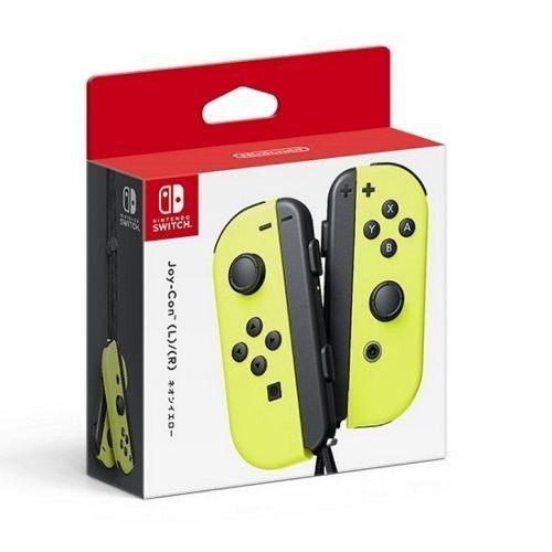 任天堂 Nintendo Switch NS 原廠公司貨 JOYCON 左右手把 把手 控制器 黃色【台中恐龍電玩】