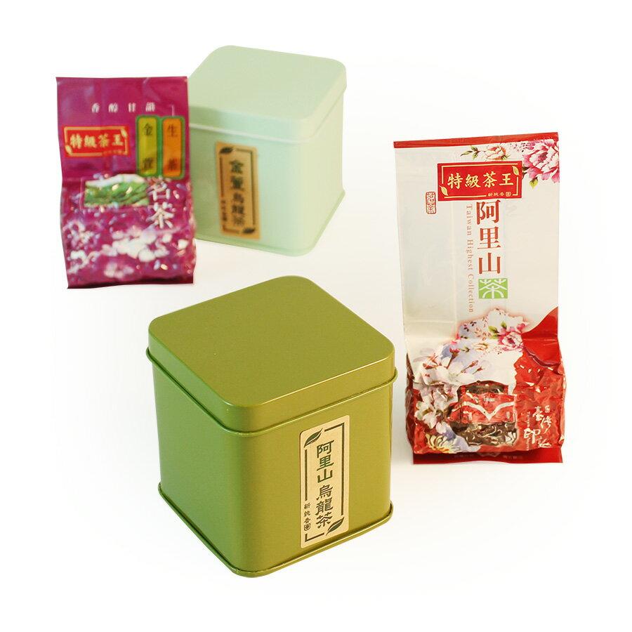 高山茶系列-經典四方罐雙入禮盒 3