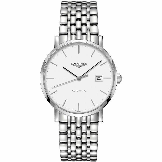 LONGINES 浪琴表 L49104126 琴韻優雅系列腕錶/白面39mm