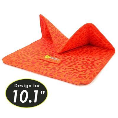 <br/><br/>  10.1吋平板電腦用折疊站立式保護套/支架(非洲橘)【e2moro】<br/><br/>