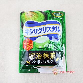 【0216零食會社】日本三星三層抹茶牛奶喉糖59g