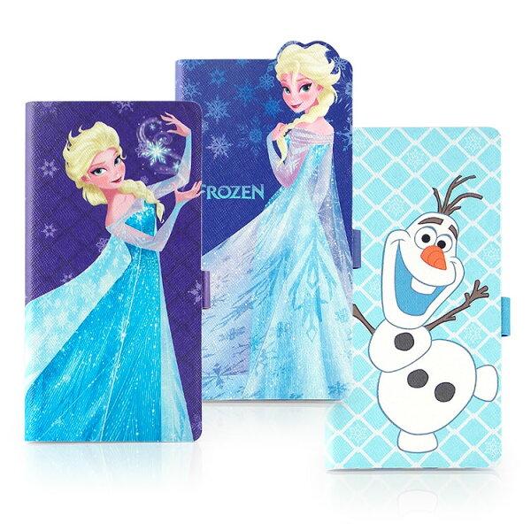 【Disney】SamsungGalaxyS6冰雪奇緣人物造型可立式皮套