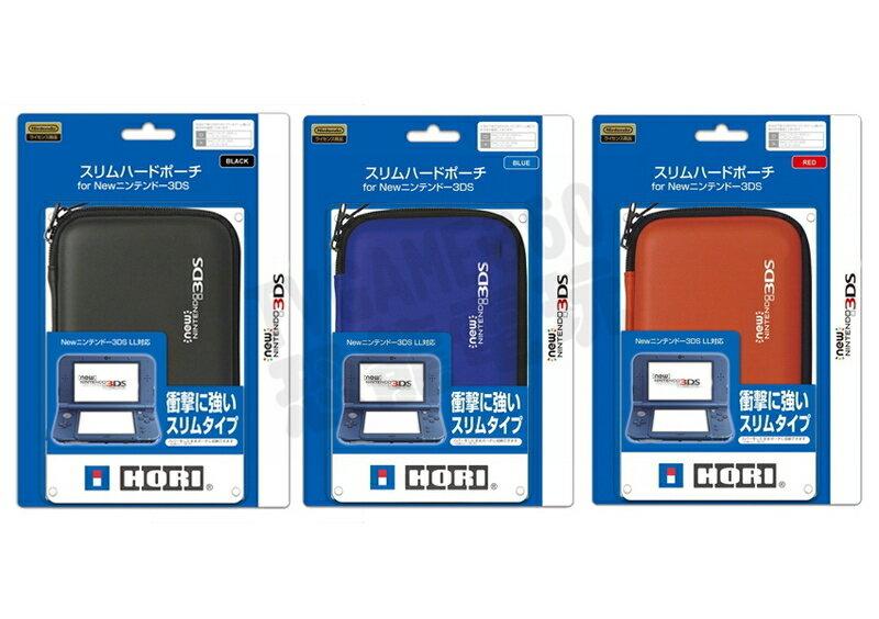 任天堂 Nintendo New 3DS HORI 防撞包 硬殼包 主機包 藍色【台中恐龍電玩】