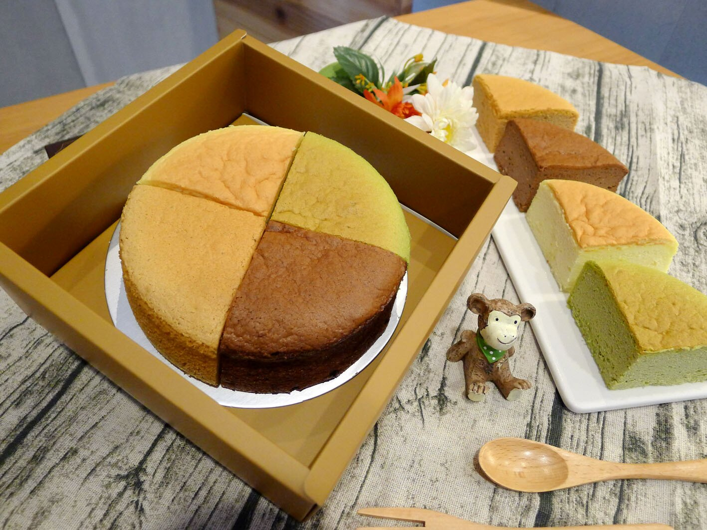 【輕。乳酪】六吋蛋糕│蛋奶素 原味/抹茶/巧克力/紅麴 軟綿綿像雲朵般的口感,蛋糕體細膩、輕盈、鬆軟又濕潤!280克±5%/盒 0