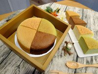抹茶蛋糕推薦-抹茶紅豆蛋糕【輕。乳酪】六吋│蛋奶素 原味/抹茶/巧克力/紅麴 軟綿綿像雲朵般的口感,蛋糕體細膩、輕盈、鬆軟又濕潤!280克│盒。就在米之朵甜點房抹茶蛋糕推薦-抹茶紅豆蛋糕