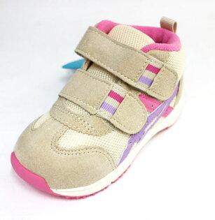 陽光運動館:ASICS亞瑟士嬰幼高筒透氣大開口童鞋GORUNNERBABYTUB127-0535(米粉紫)[陽光樂活]