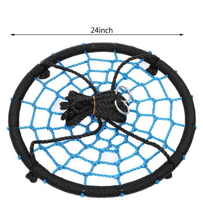 Outdoor Swing 24inch Diameter Foldable Tree Net Swing 4