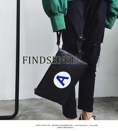 韓國 大A 首爾 手拿包 包包 側背包 文件包 男